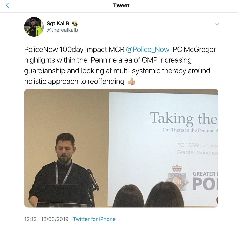 Police Now - RetiredAndAngry